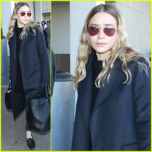 Ashley Olsen Jets Out of Los Angeles Right Before Christmas!