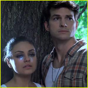 Ashton Kutcher & Mila Kunis Play Lovers in Fake 'MoonQuake Lake' Trailer - Watch Now!