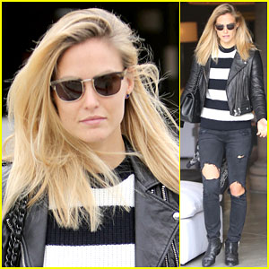 Bar Refaeli Makes Her Shopping Trip a Family Affair