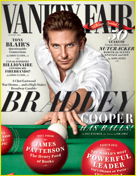 Bradley Cooper Opens Up About Addiction & Being Sober in 'Vanity Fair'