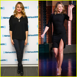 Cameron Diaz Talks Being Terrified of Singing in 'Annie' on 'Late Night with Seth Meyers' - Watch Here!