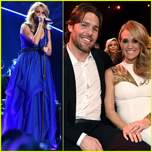 Carrie Underwood's Husband Watches Her Perform Her Biggest Hits at the American Country Countdown Awards 2014 (Video)