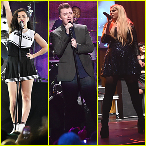 Charli XCX & Sam Smith Turn It Up For iHeartRadio's Jingle Ball 2014 - See The Pics!