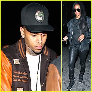 Chris Brown Gets Twerked On By Amber Rose - Watch Now!