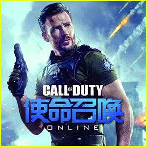 Chris Evans Brings Out His Big Guns for Call of Duty Online - Watch Here!