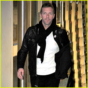 Chris Martin Heads to the City of Light After Performing at the BBC Awards - Watch Here!