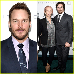 Chris Pratt & Aaron Taylor-Johnson Ooze Sexy Suit Appeal at March of Dimes Luncheon