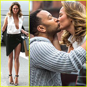 Chrissy Teigen & John Legend Kiss & Look More in Love Than Ever Before!