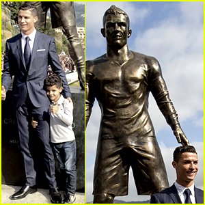 Cristiano Ronaldo's Statue Features a Little Something Extra!