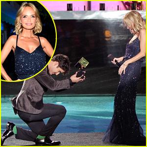 Darren Criss Bows Down to Kristin Chenoweth at Logo's NewNowNext Awards!