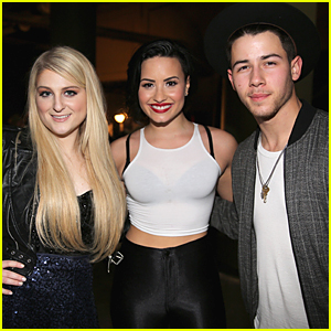 Demi Lovato & Nick Jonas Are Insanely Talented & Down to Earth, Megan Trainor Gushes!