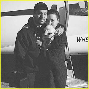 Demi Lovato Shares Adorable New 'Little Family' Snap of Her & Wilmer Valderrama on Christmas Eve