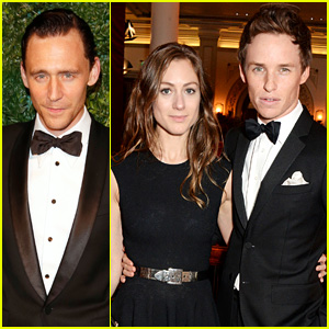 Eddie Redmayne & Tom Hiddleston Break Out Their Bow Ties for London Evening Standard Theatre Awards 2014