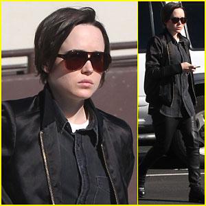 Ellen Page Reveals How She Spends Her Alone Time