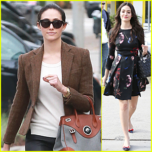 Emmy Rossum Tells Us How We Can Crash a Party With Her - Watch Now!