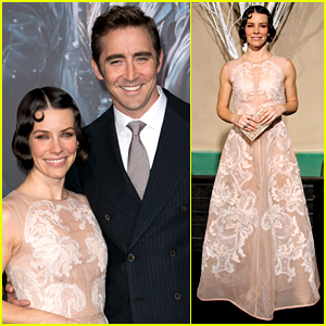 Lee Pace Married with co-star Lee Pace on