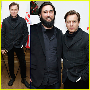 Ewan McGregor Takes Break From 'The Real Thing' for Special NY Screening of 'Son Of A Gun'!