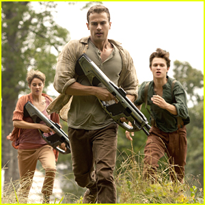 Theo James & Shailene Woodley Are On The Run In New 'Insurgent' Trailer