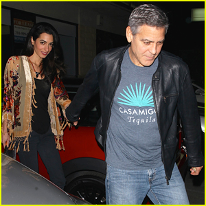George Clooney Steps Out with His 'Fascinating' Wife Amal
