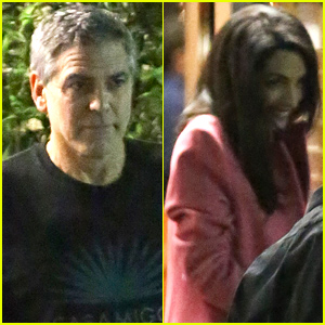 George & Amal Clooney Make It a Sushi Date Night!