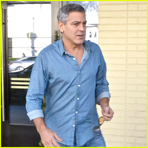 George Clooney Steps Out After Amal Pregnancy Rumors