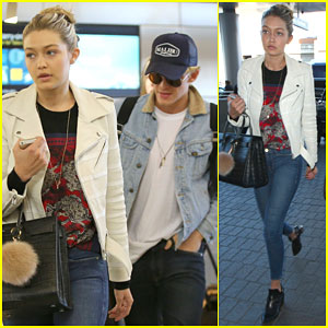 Gigi Hadid & Cody Simpson Jet Off to Dubai for New Year's Eve