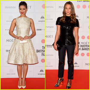 Gugu Mbatha-Raw & Alicia Vikander Are Gorgeous Nominees at the British Film Awards!