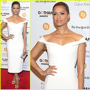 Gugu Mbatha-Raw Is Stunning in White at Gotham Independent Film Awards