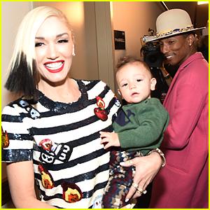 Gwen Stefani Shows Off Adorable Son Apollo at Z100 Jingle Ball 2014