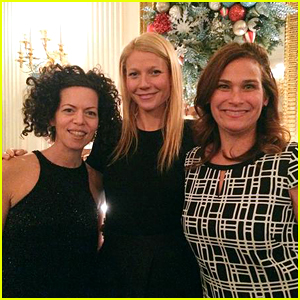 Gwyneth Paltrow Celebrated Hanukkah at the White House!