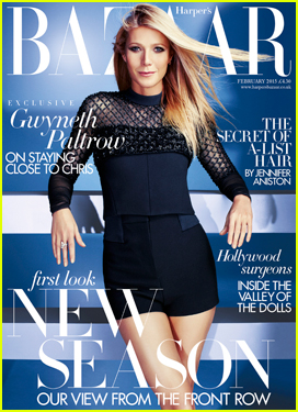 Gwyneth Paltrow Gets Honest On Women in 'Harper's Bazaar' UK February 2015