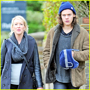 Harry Styles Spends Time with James Corden's Wife Julia