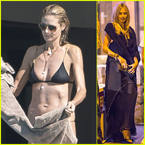 Heidi Klum Still Has Hot Bikini Body at Age 41