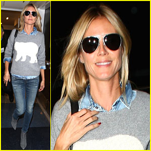 Heidi Klum Loves Sharing Photo Blasts from the Past