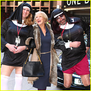 Helen Mirren Posed with These Drag Queen Nuns & the Photos Are Great!
