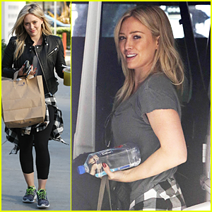 Hilary Duff Shows Self-Discipline By Burning Off Christmas Calories