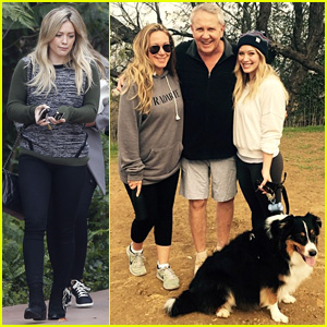 Hilary Duff Takes Family Hike with Dad & Pregnant Sis Haylie