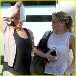 Hilary & Haylie Duff Have a Sister Day Out on the Town!