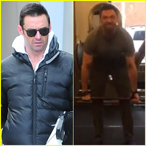 Hugh Jackman Lifts Over 400 Pounds in Insane Video - Watch Here!