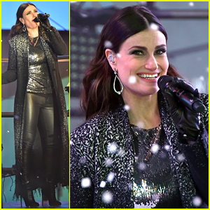 Idina Menzel Sings 'Let It Go' on New Year's Eve 2015 (Video)
