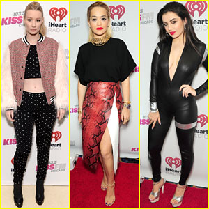Iggy Azalea & Rita Ora Are a Couple of 'Black Widows' at Jingle Ball in Chicago