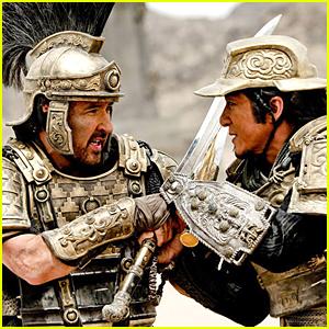 Jackie Chan & John Cusack Battle in 'Dragon Blade' Trailer - Watch Now!