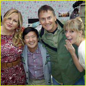 Jennifer Coolidge is Playing Brittany's Mom on 'Glee'! (Photo)