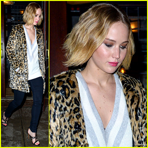 Jennifer Lawrence Checks Out Pal Bradley Cooper on Broadway