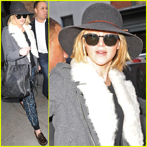 Jennifer Lawrence Steps out in NYC After Her Hot Bodyguard's Pics Go Viral!