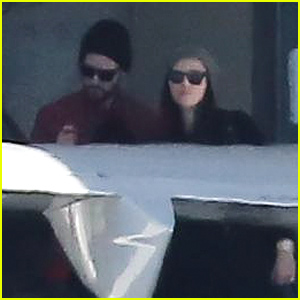 Jessica Biel & Justin Timberlake Make a Rare Public Appearance Together at the Airport