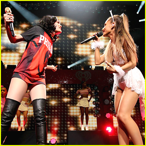Ariana Grande & Jessie J Fire Up Q102's Jingle Ball in Philly