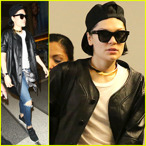 Jessie J Travels While Battling a Brutal Chest Infection