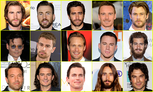 Just Jared's 25 Most Popular Actors 2014