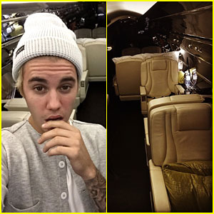 Justin Bieber Got a Brand New Private Jet for Christmas